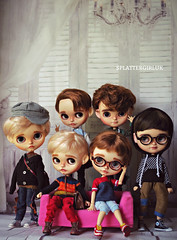 Blythe and Icy Boys by SPLATTERGIRLUK