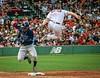 Tampa Bay-Boston (magner.m) Tags: baserunner tampabay baseball redsox firstbase