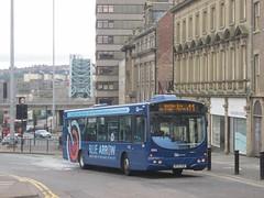 Go North East 5203 NK54NUW Pilgrim St, Newcastle on 11 (1280x960) (dearingbuspix) Tags: goahead gonortheast bluearrow 5203 nk54nuw