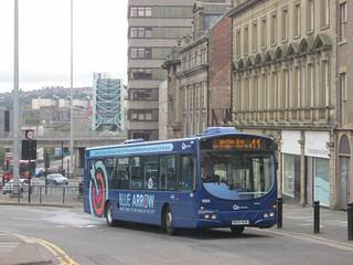 Go North East 5203 NK54NUW Pilgrim St, Newcastle on 11 (1280x960)