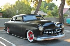 Lake Avenue Church Classic Car Nights 8-11-17 (USautos98) Tags: 1951 ford shoebox leadsled traditionalhotrod streetrod custom rockabilly