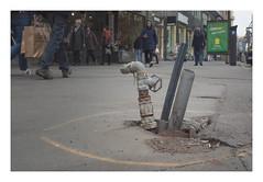 Eat Fresh (Goran Patlejch) Tags: street asphalt problem construction danger prague praha praga prag pipe water pipeline