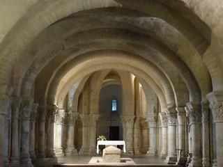Quel est ce lieu? la crypte de l'église Saint Eutrope à Saintes (17)