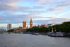 Big Ben, The Houses Of Parliament, The Thames, London (Yenner815) Tags: greatbritain wielkabrytania london londyn thethames bigben thehousesofparliament westminsterbridge londoneye