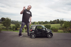 237/365 - that's the last time i buy a car from a clown (possessed2fisheye) Tags: possessed2fisheye scottmacbride scott creativeselfportrait creativephotography creative creativephotoshop photoshop photoshopmanipulation i♥photoshop selfportrait self neverbuyacarformaclown smallcar smartcar 365 365project project365 2017 project3652017 365project2017
