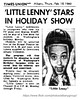 1960 little lenny appearance (albany group archive) Tags: albany ny history 1960 little lenny appearance wast channel 13 personality kiddie strand theatre tv old historic historical vintage photograph picture