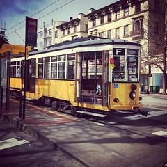 Milan Tram (Jamison Wieser) Tags: muni milantram tram trolley streetcar fmarketwharves publictransit transit