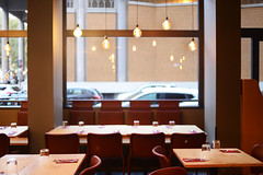 DSC_2413 (fdpdesign) Tags: pizzamaria pizzeria genova viacecchi foce italia italy design nikon d800 d200 furniture shopdesign industrial lampade arredo arredamento legno ferro abete tavoli sedie locali