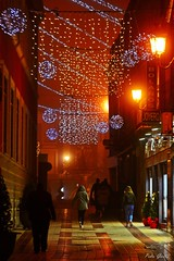 Night in the street (Peideluo) Tags: night street people city navidad long exposure light