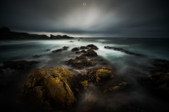 Moray Moods (Augmented Reality Images (Getty Contributor)) Tags: bigstopper canon clouds coastline colours landscape leefilters longexposure morayfirth portknockie rocks scotland seascape water waves