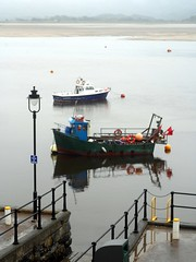 Fishing Boat (the justified sinner) Tags: justifiedsinner fishing boat harbour barmouth wales panasonic gh2 gx7 minolta macro rokkor md 50 35