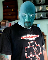 Negative Emotion (Ozzy Delaney) Tags: negative inverted emotion person rammstein industrial man bloke blue tshirt tattoo feeling