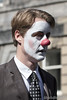 He's Got 'It' (DMeadows) Tags: dmeadows davidmeadows davidameadows edinburgh fringe festival 2017 street performance performances performers act acts promotions promotion show shows promoting advertising person man nose red face paint painted facepaint tamronspaf90mmf28dimacro