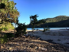 Stingray Bay, late afternoon.