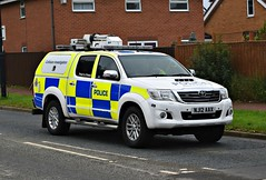 NJ12AAX (Cobalt271) Tags: nj12aax northumbria police toyota hilux d4d invincible ciu proud to protect livery