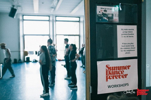Workshops & masterclasses Summer Dance Forever