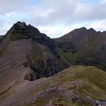 An Teallach's summit ridge from Stob Cadha Gobhlach thumbnail