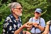 08 showing us a rock (Margaret Stranks) Tags: bbcoxfordwalk drysandford oxfordshire uk naturereserves