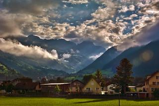 Switzerland , Kanton Uri . A view from the train to Ticino. 09.09.15, 9:23:02. No. 158.