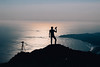 A boy and his camera (Shaw.P) Tags: sea ocean landscape sky water mountain sunset marin headlands