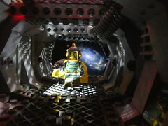 I will find you... (captain_joe) Tags: sooc space spacestation toy spielzeug 365toyproject lego series17 minifigure minifig retrospacehero