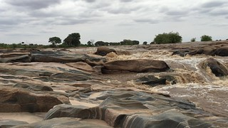 Video of Beautiful Lugards Falls, Galana River - Tsavo East, Kenya 3050