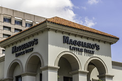 Maggiano's Little Italy Restaurant-Galleria-Houston-Texas (Mabry Campbell) Tags: galleriadistrict houston maggianoslittleitaly maggianos texas usa unitedstatesofamerica architecture building buildingexterior exterior galleriaarea image logo photo photograph restaurant f45 mabrycampbell august 2017 august242017 20170824campbellh6a7182 100mm ¹⁄₁₀₀₀sec 100 ef100mmf28lmacroisusm