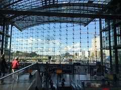 Berlin Main Train Station (mithomas20) Tags: berlin train station hbf germany db