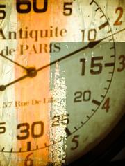 Avoir le temps .. (Dare2drm) Tags: time clock temps horloge cadran paris france texture arthetart christianhetzel