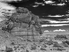 Bisti Badlands-46 (jamesclinich) Tags: bisti badlands danazin wilderness farmington newmexico nm desert rock sky clouds handheld availablelight jamesclinich landscape olympus omd em10 mzuiko1240mmf28pro adjust photoshop topaz denoise detail