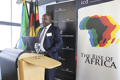 Councillor Moses Mukhooli (Chargé d'Affaires Ad Intern - Embassy of Uganda to Germany) (Academy for Cultural Diplomacy) Tags: institute cultural diplomacy berlin germany deutschland international symposium africa summit conference meeting human rights rise politics auidience speaker ambassador president minister economy economics society culture speech