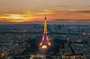 Eiffeltower by Sunset (dvbeek.1982) Tags: bastilleday blauweuur bluehour celebration fireworks fireworkshow france frankrijk hollydays nikon parijs paris summer vuurwerk vuurwerkshow zomer
