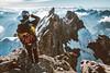 Summit of La Meije (Federico Ravassard) Tags: climbing climber mountain alps alpinism dawn sunset vsco panasonic lx100 alpes france italy mountaineer