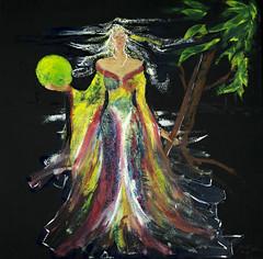 «Athena» (CRIM2017) Tags: oil fantasy mythology canvas
