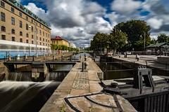 Slussportar / Lock gates (lmbythesea) Tags: fotosondag fs170910 port