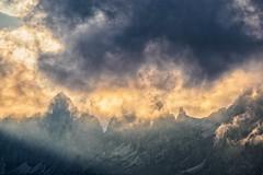 The Appearance of the Light II... (Ody on the mount) Tags: abendlicht anlässe berge dolomiten drama em5ii fototour italien licht mzuiko40150 omd olympus südtirol urlaub wolken clouds light mountains cherz veneto it