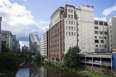 River Irwell (Mike Serigrapher) Tags: manchester salford irwell river