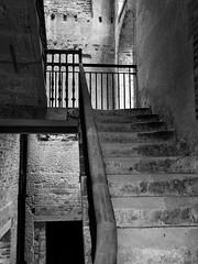 The backstairs, Appldurcombe House (mpb_17) Tags: