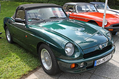 RV8 (Schwanzus_Longus) Tags: german germany uk gb great britain british england english old classic vintage car vehicle cabrio cabriolet convertible roadster mg rv8