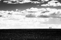 Insignificant (nuriapase) Tags: blancinegre tanzània massai mara blackandwhite blancoynegro monocrome sky núvols clouds people minimalism dark parknationalmassaimara africa holidays travel nikon insignificant alone landscape paisatge paisaje nature black white reserve