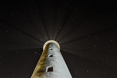 The lighthouse @ Faro Maspalomas Gran Canarias (I was blind now I see!) Tags: lighthouse light night stars astro astrophotography pointofview maspalomas faromaspalomas faro grancanaria sky skyscape building nightphotography