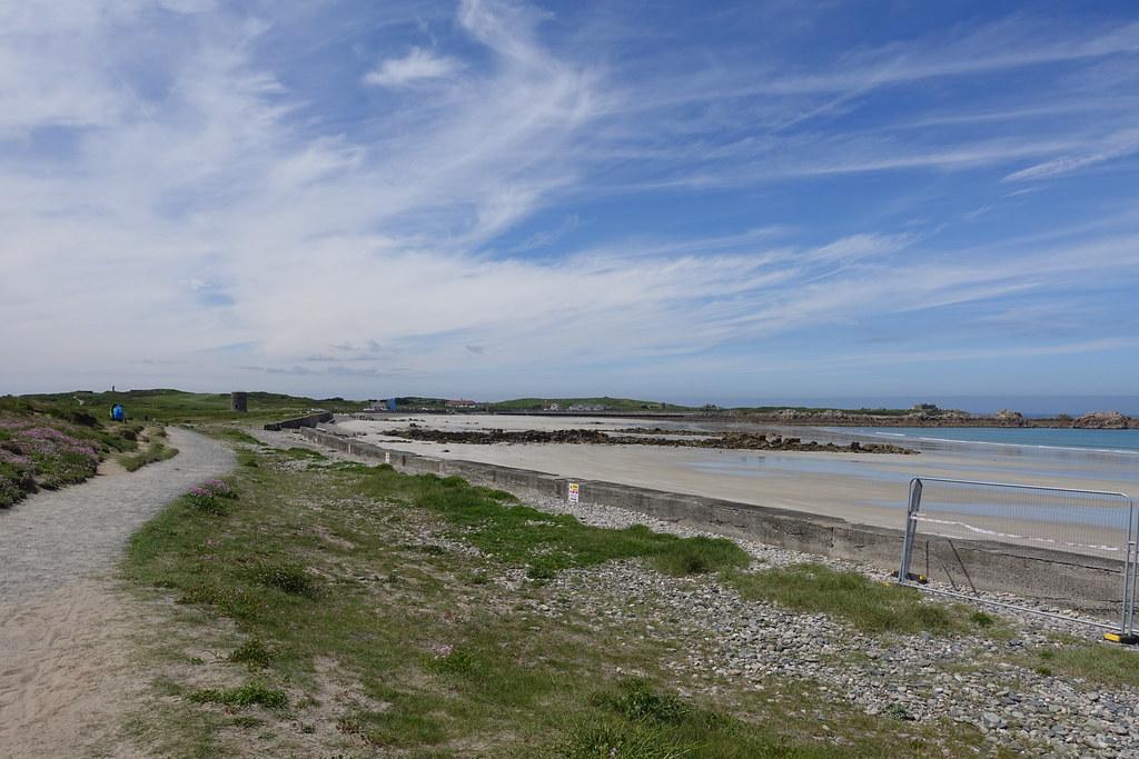 Vazon Beach, Guernsey