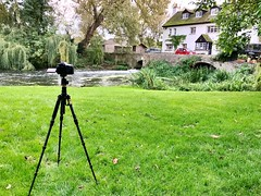 Behind the scenes... (dale_jeffs) Tags: iphone mill apple tripod camera canon 70d setup