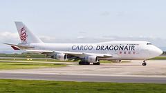 B-KAE (airpower) Tags: 747412bcf man boeing airbus 343 a340300 cargo manchester manchesterairport egcc bkae hbjmg take off planes jumbo runway taxing air airport