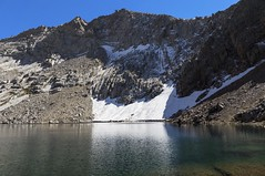 Crystal Lake, Sequoia National Park (benereshefsky) Tags: sequoia sequoianationalpark nationalpark mountains landscape nature california unitedstates usa mineralking alpine sierranevada mountain water sky mountainside rock lake snow