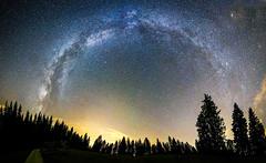 Voie Lactée - La Sagne (L'agriculteur Illuminé) Tags: dylan koller canon eos 5d milky way voie lactee astrophotographie astronomie suisse la sagne le locle neuchatel nature foret nuit night