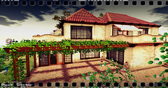 "Amandia ""Tuscany style""  Villa (Exedra Lyric) Tags: amandia art city virtual virtualcity land secondlife second secondlifeitalia landscape photographer italia italianstyle virtualphotographer virtualworld"