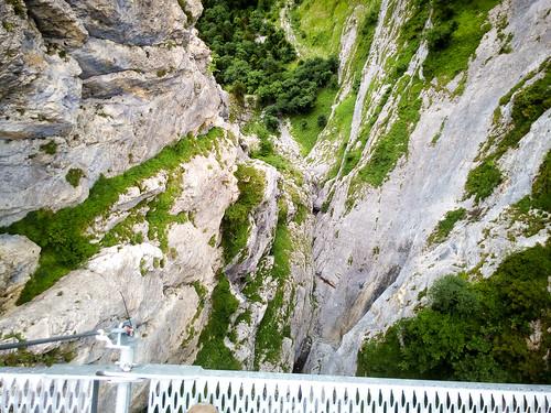 Klettersteig Lauterbrunnen : Tälli klettersteig bergsteigen