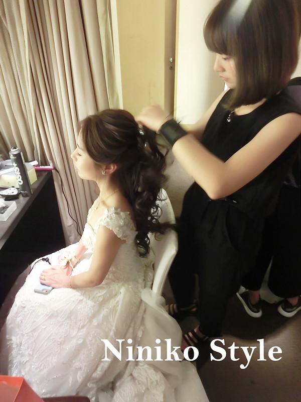 婚紗,髮型,2017,新娘,髮飾,婚宴,頭紗,台北,國賓,飯店