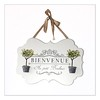 Bienvenue (haberlea) Tags: bienvenue france french infrench sign white onwhite cute frame border square ribbon